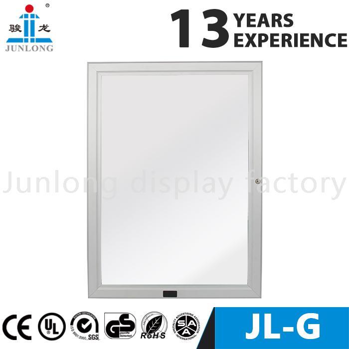 Aluminum frame magic mirror light box - Junlon
